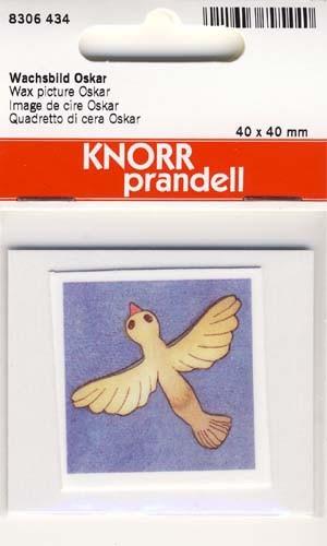 Wachsbild Oskar 4x4cm