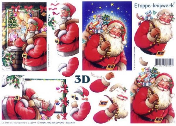3D Bogen Nikolaus kommt