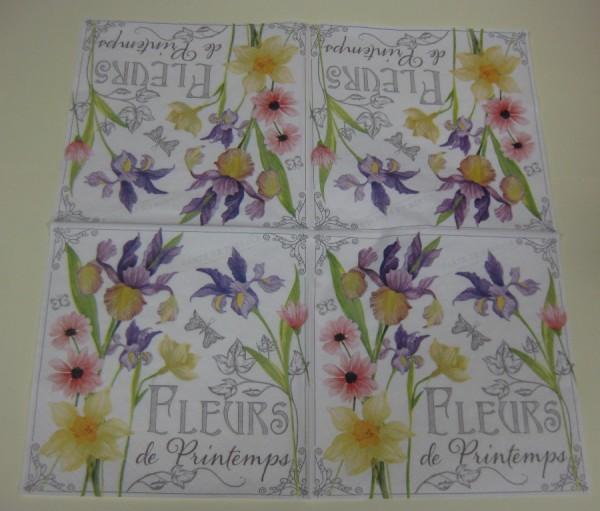 387010_Serviette-Frühlingsblumen