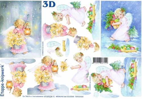 3D Bogen Kleine Engel 2