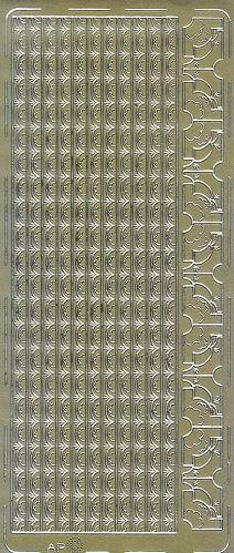 Sticker Ornamentborte14 gold