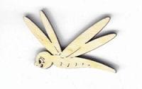 Holzbild Libelle 40mm