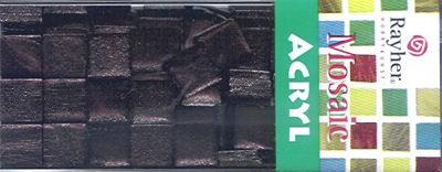 Mosaic Acryl mahagony metallic