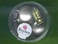 Glas-Perle 20mm weiß matt
