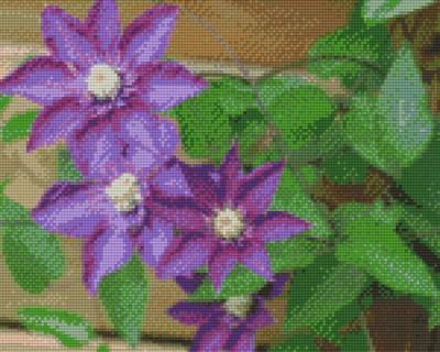 809161_Pixelset-Blumen-lila