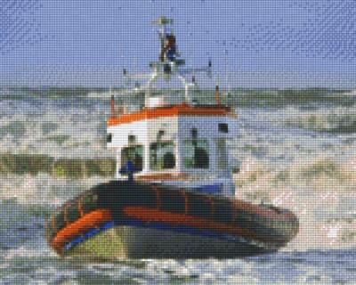 809207_Pixelset-Rettungsboot