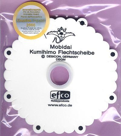 Mobidai Kumihimo Flechtscheibe