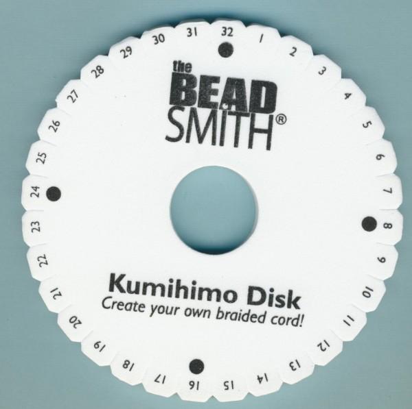 16557 Beadsmith Kumihimo Flechtscheibe 15cm