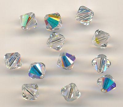 Swarovski Glasschliffperlen 6mm crystal AB