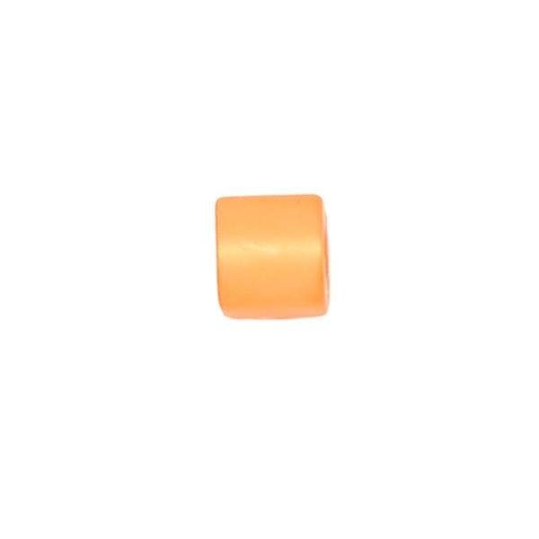 Polariswürfel Großloch neon orange matt 6x6mm