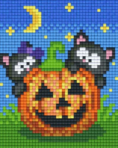 Set Halloween Katzen