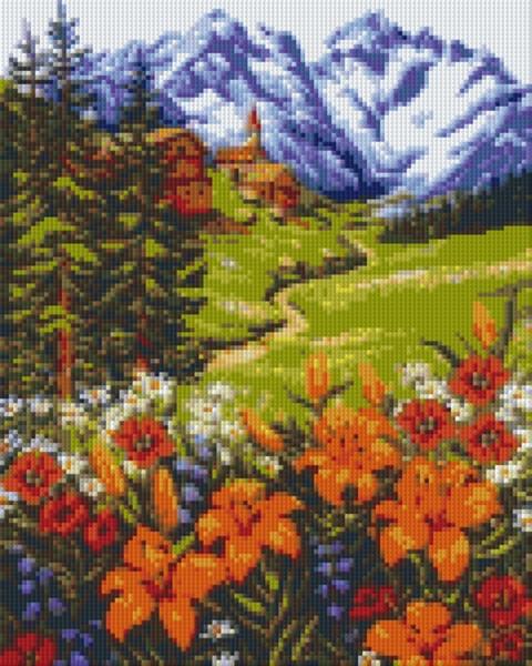 Set Berglandschaft