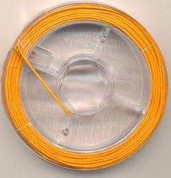 Schmuckkordel orange 0,8mm 10m