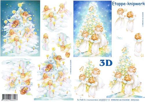 3D Bogen Kleine Engel