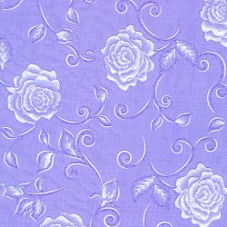 Vlies Rosenzauber lila