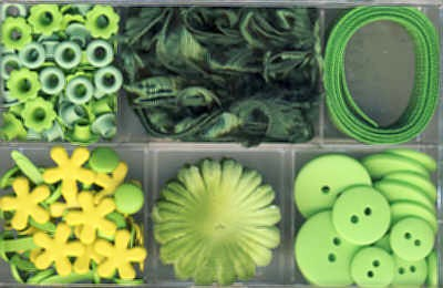 Embellishment Kit grün