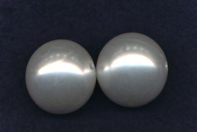 Wachsperlen 25mm weiß