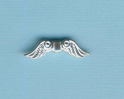 i572137a_Metallzierteil-Flügel-23mm-echt-versilbert