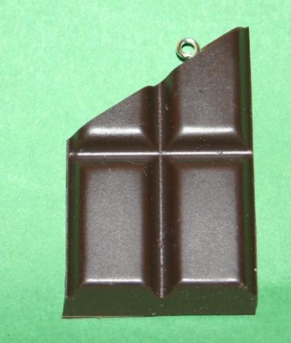 Schoki-Schmuck Schokolade, dunkel