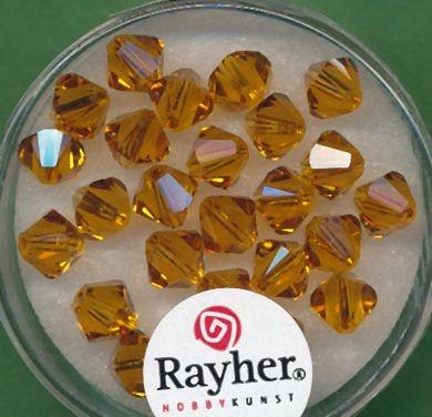 Swarovski Glasschliffperlen 6mm koralle