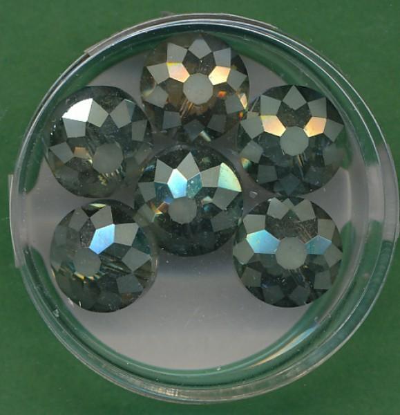 443512214_Glasschliffperlen-abgeflacht-8x12mm-oliv-AB-6-Stück