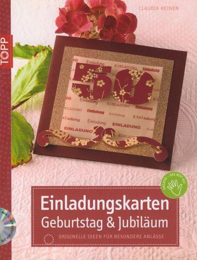 Buch Einladungskarten Geburtstag und Jubiläum