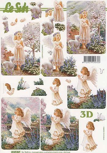 3D Bogen kleine Engel II