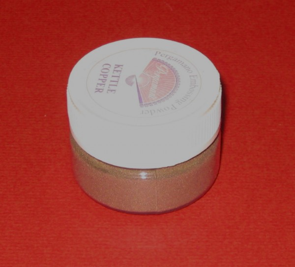 58371860 Pergamano Embossing Puder kettle copper 7g