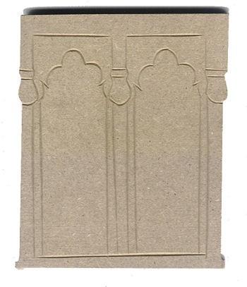 Holz-Dekor Fensterornament