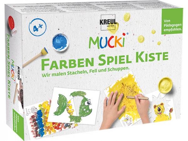 Mucki Set Farben Spiel Kiste