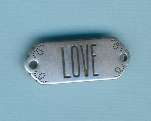 mp19121_Armbandverbinder-Viereck-mit-Schrift-Love-30x12mm-versilbert