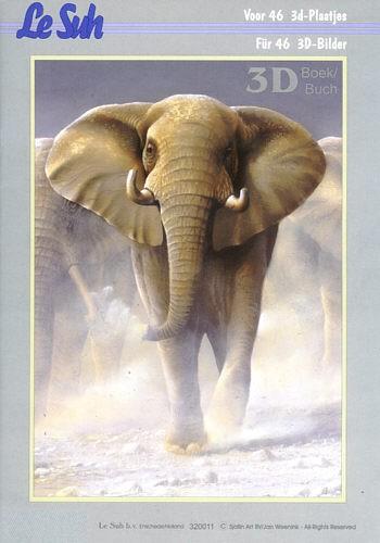 3D Motivbuch Tierwelt