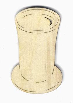 Holz-Deko Becher 5cm