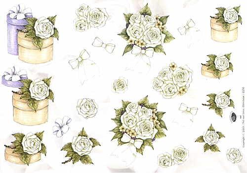Motivbogen Bouquet