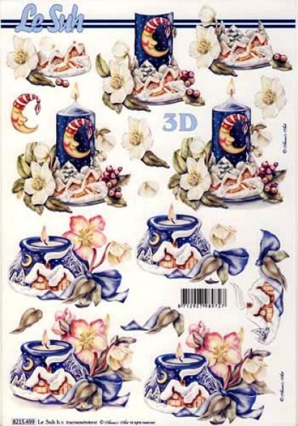3D Bogen Winterdeko