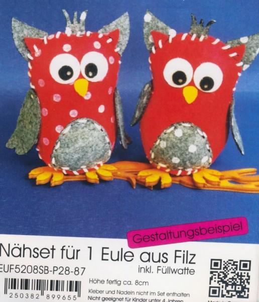 euf5208sbp2887_Filz-Nähset-Eule-klein-rot-grau-meliert