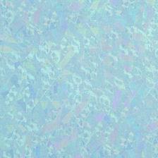 Wachsplatte 20x10cm irisierend hellblau