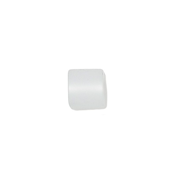Polariswürfel Großloch weiß matt 6x6mm