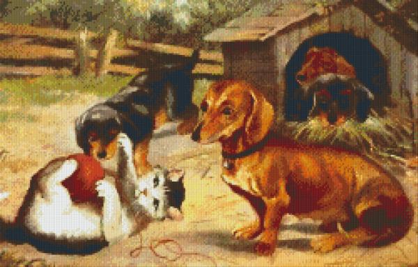 Set Tierfreunde