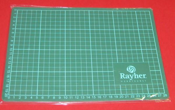 8923400 Schneidematte 30x22cm grün 3mm