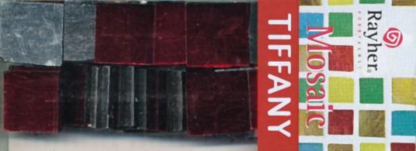 Spiegel-Mosaik rot 1,5cm