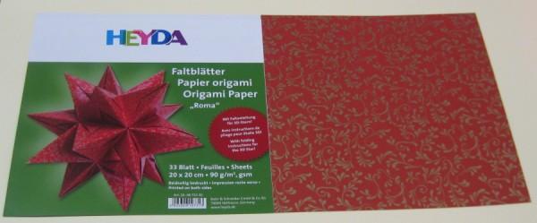 4875530_Faltblätter-Origamipapier-Roma-20x20cm-90g-33-Blatt