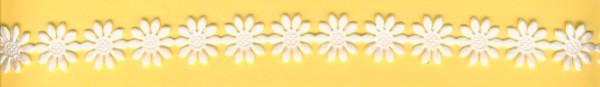 Blümchen selbstklebend 15mm weiß