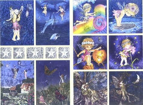 Dufex Sticker Fairies 2