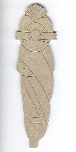 Holz-Dekor Afrikanische Puppe 1