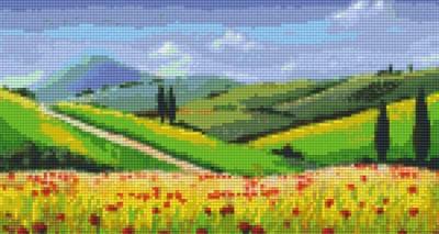 806128 Pixelhobby Set Landschaft 5 mit 6 Platten
