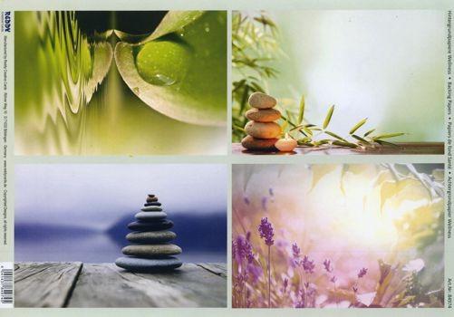 Hintergrundpapier Wellness