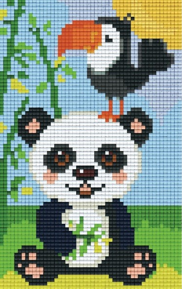 Set Pandabär Tukan