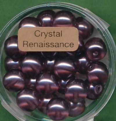 Crystal Renaissance 8mm hell lila