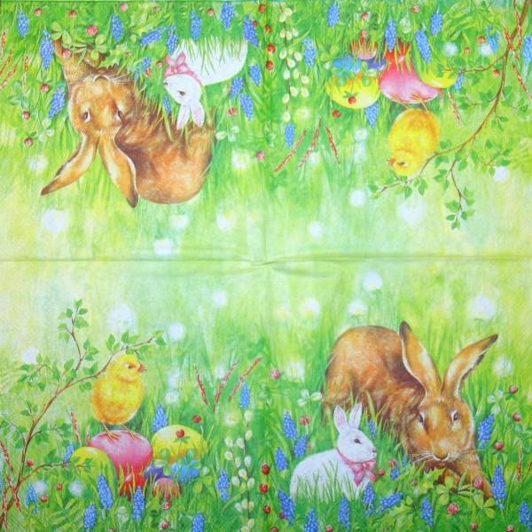 14020_Serviette-Bunny-Friends